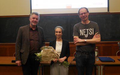 Dounia Bourabain wint de Verhulstprijs 2017