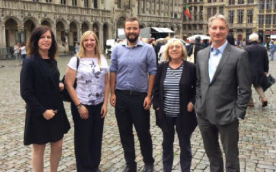 IER delegation visits ID and TOR in Brussels