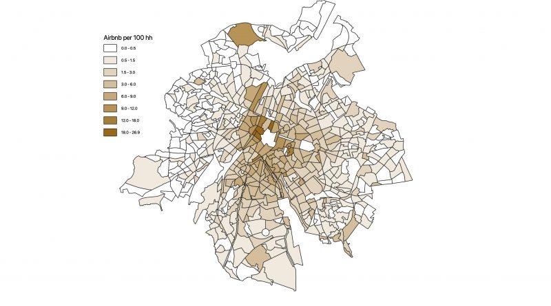 VUB-studie ontrafelt Airbnb markt in Brussel